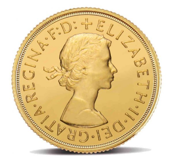 Royal Mint - Sterlina Oro I Ritratto Elisabetta II (1957 - 1968)
