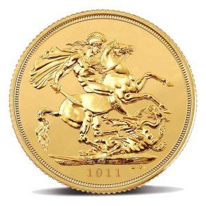 Sterlina-Oro-The-Royal-Mint-Giorgio-V-1911